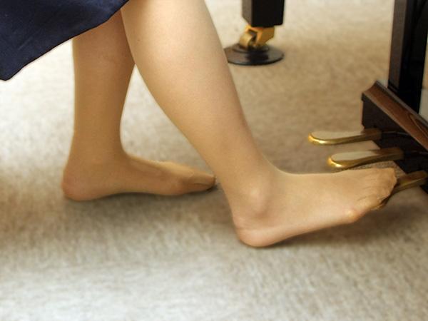 ノ姿勢 良いペダルの踏み方例